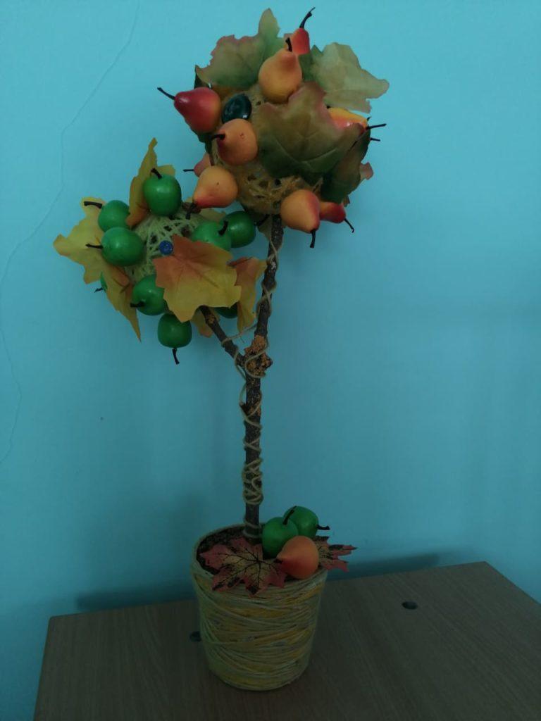 Осенний топиарий
